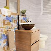 Base decorativa Paine acuarela multicolor 30 x 60 cm