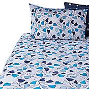 Comforter Doble 144 Hilos Tara Azul
