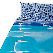 Juego de Cama King 180 Hilos Pantone Azul
