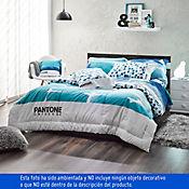 Comforter Doble 180 Hilos Pantone Azul