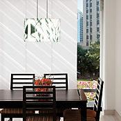 Panel Oriental Jokk 240x230 cm Blanco