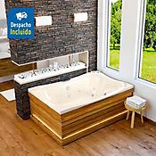 Hidroaero Ibiza spa 182x123 cm - Marfil