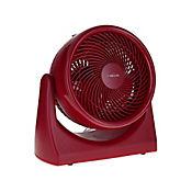 Ventilador de Escritorio 25cm Rojo