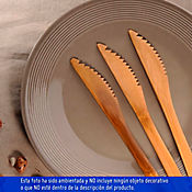 Set x 12 Cuchillos en Bamboo