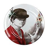 Plato Pando de 31 cm El Malabarista Colección Grau