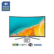 Televisor LED 55 pulgadas FullHD SmartTV Curved UN55K6500