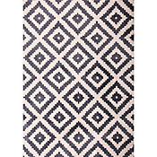 Tapete Azteca Rombos 160x230 cm Multicolor