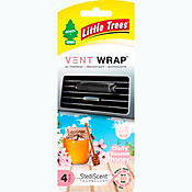 Ambientador vent wrap cherry honey x4 little tree