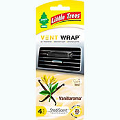 Ambientador vent wrap vainilla 4 unds little tree