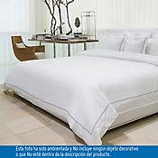 Comforter Doble 100% Algodón 400 Hilos Blanco - Azul Tcherassi