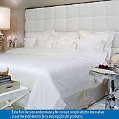 Comforter Extradoble 100% Algodón 400 Hilos Blanco - Vainilla Tcherassi