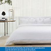 Duvet King 100% Algodón 400 Hilos Blanco - Azul Tcherassi