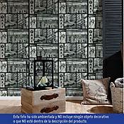 Papel Mural 5 mts2 Ny Blanco Negro Faro