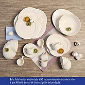 Vajilla Eventide de 6 Puestos 46 Piezas en Porcelana