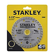 Disco Diamantado Turbo 4 1/2Pg Stanley