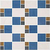 Mosaico Geranio Azul 30 x 30 Cm