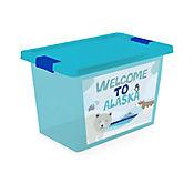 Caja Organizadora C/Broche 7.5 Lt Alaska