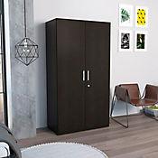 Closet Tradición 2 Puertas 2 Cajones 185x100x50.5cm Wengue