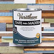 Tinte Secado Rapido Efecto Envejecido 1/4 de Galón Gris Marino Desgasta