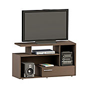 Mesa para TV 1 Cajón 76x120x40 cm Wengue