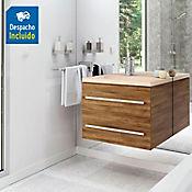 Kit lavamanos Venecia marfil con mueble Misus Rh 63x48 cm Avellana