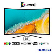 Televisor LED 40 pulgadas FullHD SmartTV Curved UN40K6500