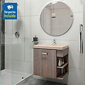 Kit lavamanos Bari bone con mueble Gaudi 63x48 cm Capuccino