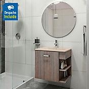 Kit lavamanos Trentino bone con mueble Gaudi 63x48 cm Capuccino