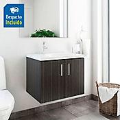 Kit lavamanos Venecia blanco con mueble elevado 63x48 cm Salvaje