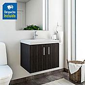 Kit lavamanos Bari blanco con mueble basic ele 63x48 cm Salvaje