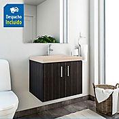 Kit lavamanos Bari bone con mueble basic ele 63x48 cm Salvaje