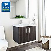 Kit lavamanos Barcelona blanco con mueble basic 63x48 cm Salvaje