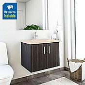 Kit lavamanos Barcelona bone con mueble basic 63x48 cm Salvaje