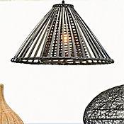 Lámpara Colgante Belloto 1 Luz E27 Negro
