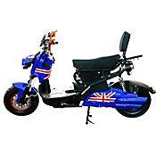 Moto Eléctrica Amaru 1.500 Watts Blue Army