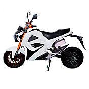 Moto Eléctrica Shiryu 2.000 Watts Blanca
