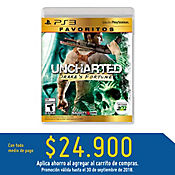 PS3 Uncharted: Drakes Fortune - Favoritos Latam