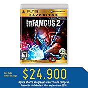 PS3 Infamous 2 (Move Compatible) - Favoritos Latam