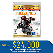 PS3 Killzone 3 (Move Compatible) - Favoritos Latam