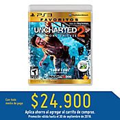 PS3 Uncharted 2: Among Thieves - Favoritos Latam