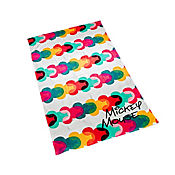 Toalla Playera 75x150 cm Mickey Colors Heads