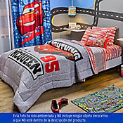 Comforter Semidoble Cars 150 Hilos Estampado