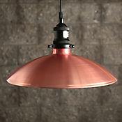 Lámpara Colgante 1 Luz E27 Vintage Bronce Negro