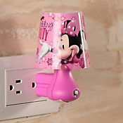 Luz de Noche LED Integrado Minnie 2 Luces Estampada