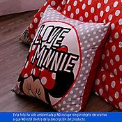 Cojin 45 x 45 Cierre Estam Minnie Flower