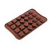 Molde para Chocolates Flor