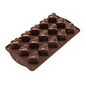 Molde para Chocolates Corazón
