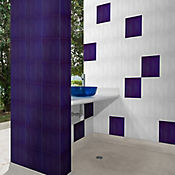 Pared Cerámica Ticino 25x25 cm Caja 2 m2 Azul Oscura