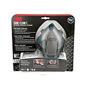 Respirador Media Cara Siliconado P100