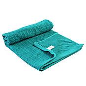Toalla Chevron para Cuerpo 70x140 cm 500 gramos Azul